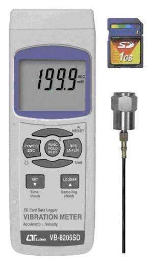 VB-8205SD SDカードデータロガデジタル振動計 マザーツール MotherTool