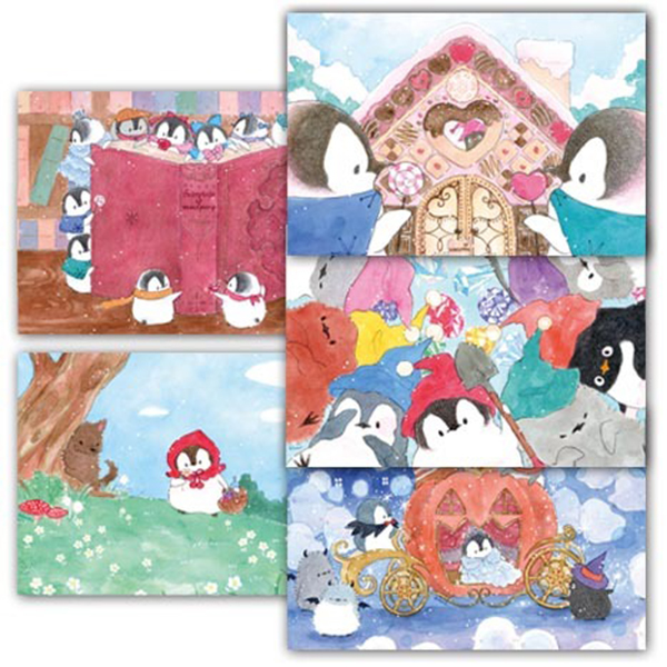 楽天市場もこぺんポストカード グリム童話 小鳥グッズ 小鳥