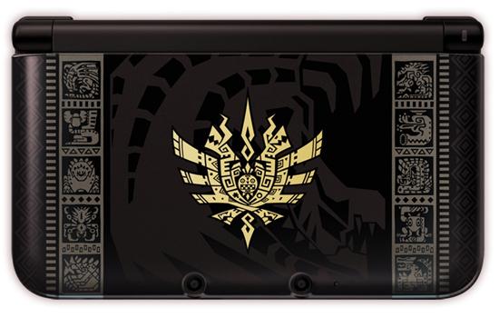 3DS LL モンスターハンター4 仕様 ゴア・マガラブラック