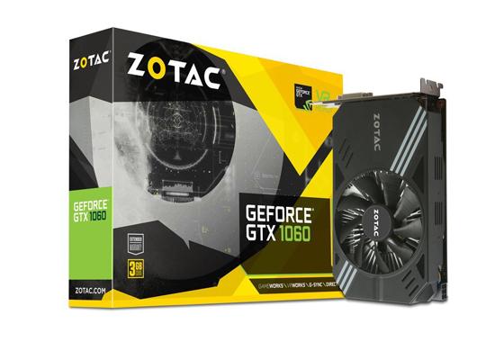 【新品訳あり(箱きず・やぶれ)】 ZOTAC GeForce GTX 1060 Mini 3GB ZT-P10610A-10L