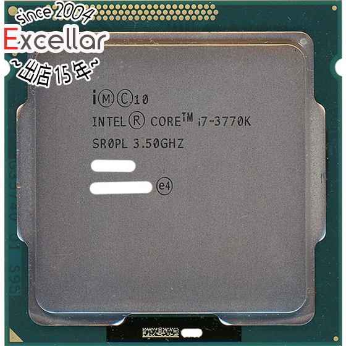 【中古】Core 3.5GHz i7 3770K SR0PL i7 3.5GHz LGA1155 SR0PL, 加須市:4b9f0d24 --- data.gd.no