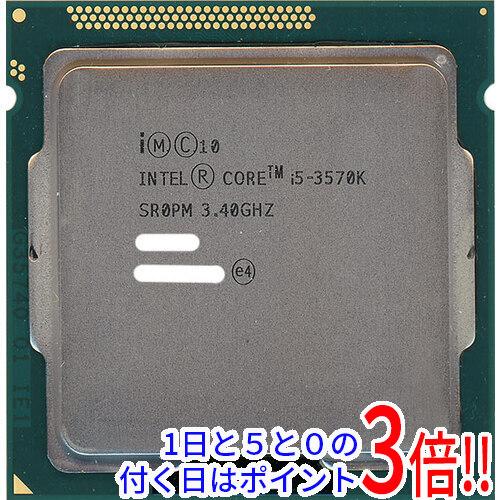 Core i5 3570K 祝日 バルク 完全送料無料 中古 77W LGA1155 3.4GHz SR0PM 6M