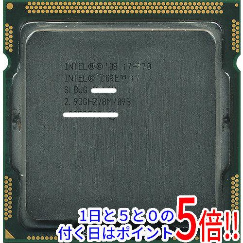 Core i7 870 バルク 【中古】Core i7 870 2.93GHz 8M LGA1156 SLBJG