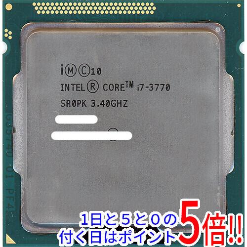 【中古】Core i7 3770 3.4GHz LGA1155 SR0PK