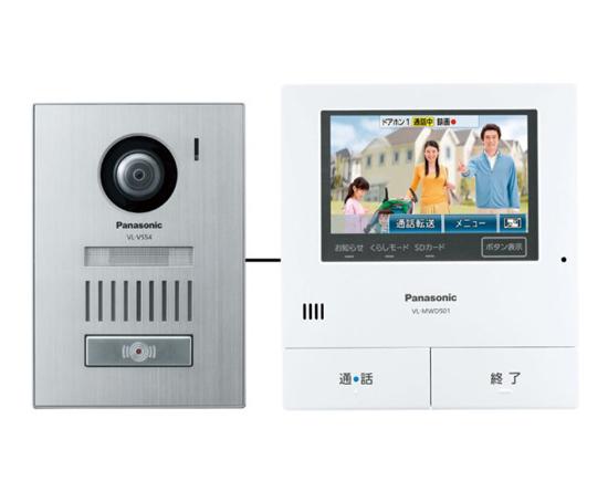 どこでもドアホン VL-SVD501KS 【キャッシュレスで5%還元】【新品訳あり(箱きず・やぶれ)】 Panasonic テレビドアホン VL-SVD501KS