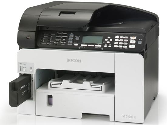 RICOH製 インクジェットプリンタ複合機 SG 3120B SF