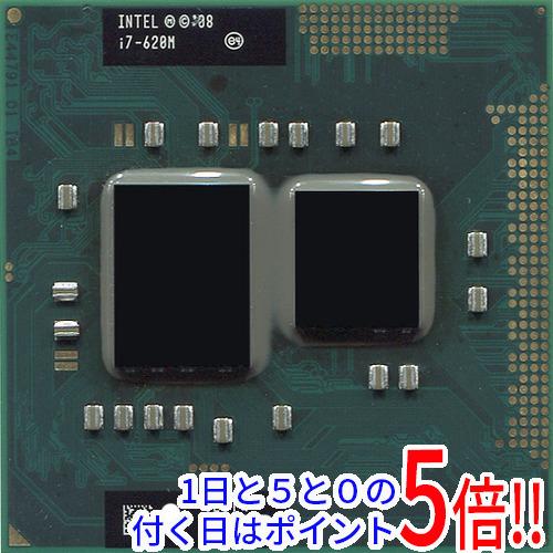 【キャッシュレスで5%還元】【中古】Core i7 Mobile I7-620M 2.6GHz PGA988 SLBTQ