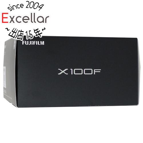 【中古】FUJIFILM デジタルカメラ X100F-B ブラック 2430万画素 美品 元箱あり