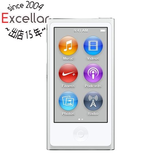 【あす楽対応】送料無料! 【キャッシュレスで5%還元】Apple 第7世代 iPod nano MKN22J/A シルバー/16GB