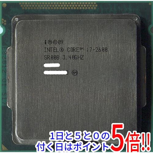 【中古】Core i7 2600 3.4GHz LGA1155 SR00B