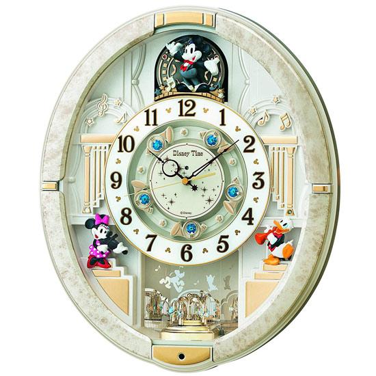 【中古】SEIKO ディズニー電波からくり時計 FW574W 未使用