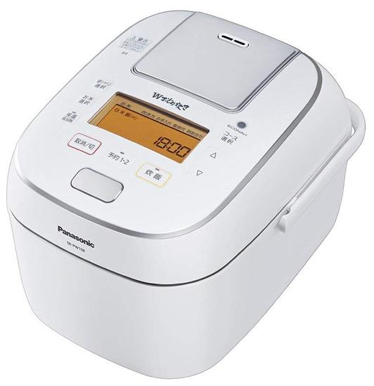 【4/9-4/16 エントリーでポイント5倍!】Panasonic 圧力IHジャー炊飯器 Wおどり炊き 10合炊き SR-PW188-W