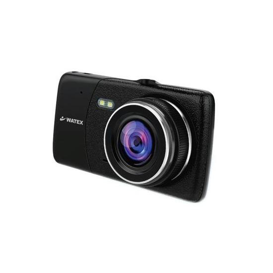 【キャッシュレスで5%還元】WATEX 前後2カメラ ドライブレコーダー DVR-2CAM-R