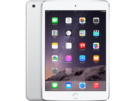 APPLE iPad mini 3 Wi-Fi 128GB シルバー MGP42J/A