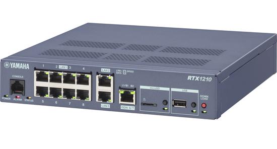YAMAHA製 ギガアクセスVPNルーター RTX1210