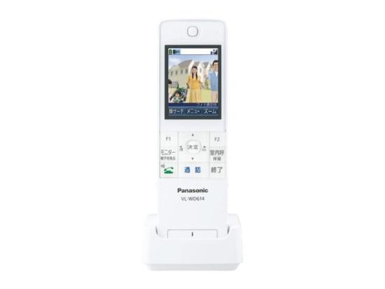 【中古】Panasonic ワイヤレスモニター子機 VL-WD614 欠品あり 未使用