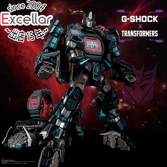【キャッシュレスで5%還元】G-SHOCK トランスフォーマーコラボレーションモデル マスターネメシスプライム DW-5600TF19-SET