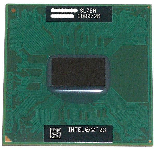 Pentium M 755 バルク 【中古】Pentium M 755 2.0GHz FSB400MHz L2 2M Dothan SL7EM