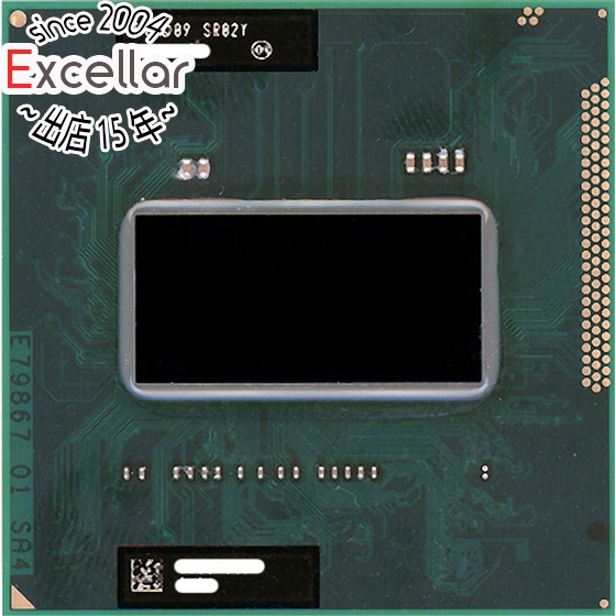 【中古】Core i7 Mobile 2630QM 2.0GHz Socket G2 SR02Y