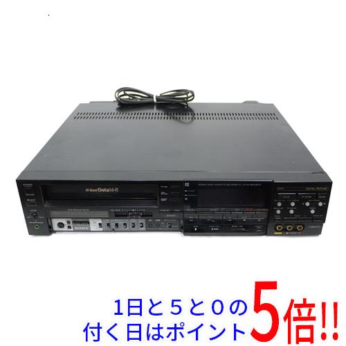 超安い メイルオーダー SL-HF701D 中古 SONY ベータビデオデッキ ボタンカバーなし