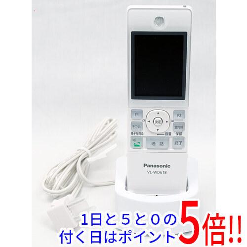 開店祝い VL-WD618 中古 Panasonic ワイヤレスモニター子機 驚きの価格が実現 未使用 欠品あり