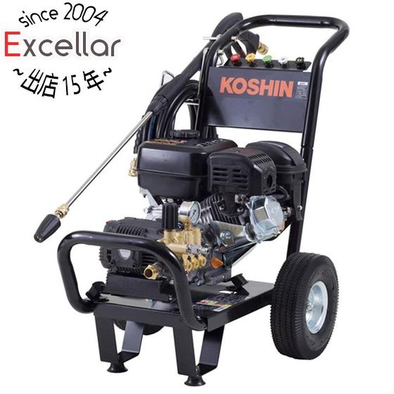 【キャッシュレスで5%還元】工進 エンジン式高圧洗浄機 15mpa 車輪付タイプ JCE-1510UK