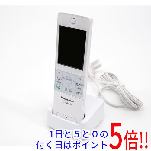 【キャッシュレスで5%還元】【中古】Panasonic ワイヤレスモニター子機 VL-WD616 欠品あり 未使用