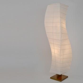 大型和風照明 D-202 flow 揉み紙