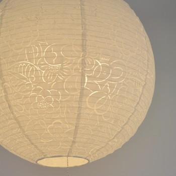 美濃和紙クロス komorebiしだれ桜SLP3-1061 交換用和紙シェード