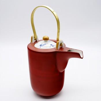 蔵珍窯 メーカー在庫限り品 ぞうほうがま 受注生産品 のうつわ 石瓶 赤巻