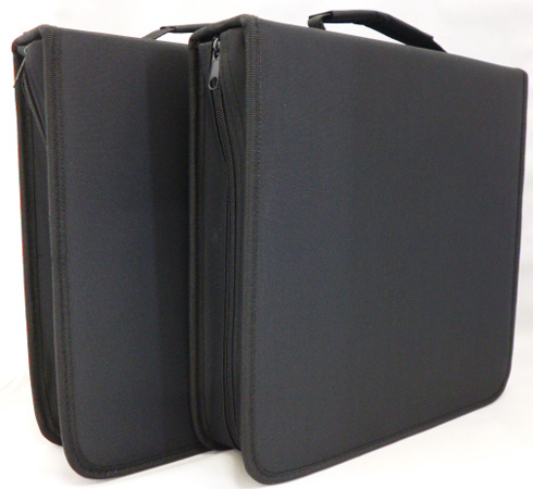 キズがつきやすいブルーレイディスクに対応した不織布を使用したケース エクセルサウンド/ブルーレイディスク対応バインダー式ディスクケース160枚収納x2個セット DBC-160x2