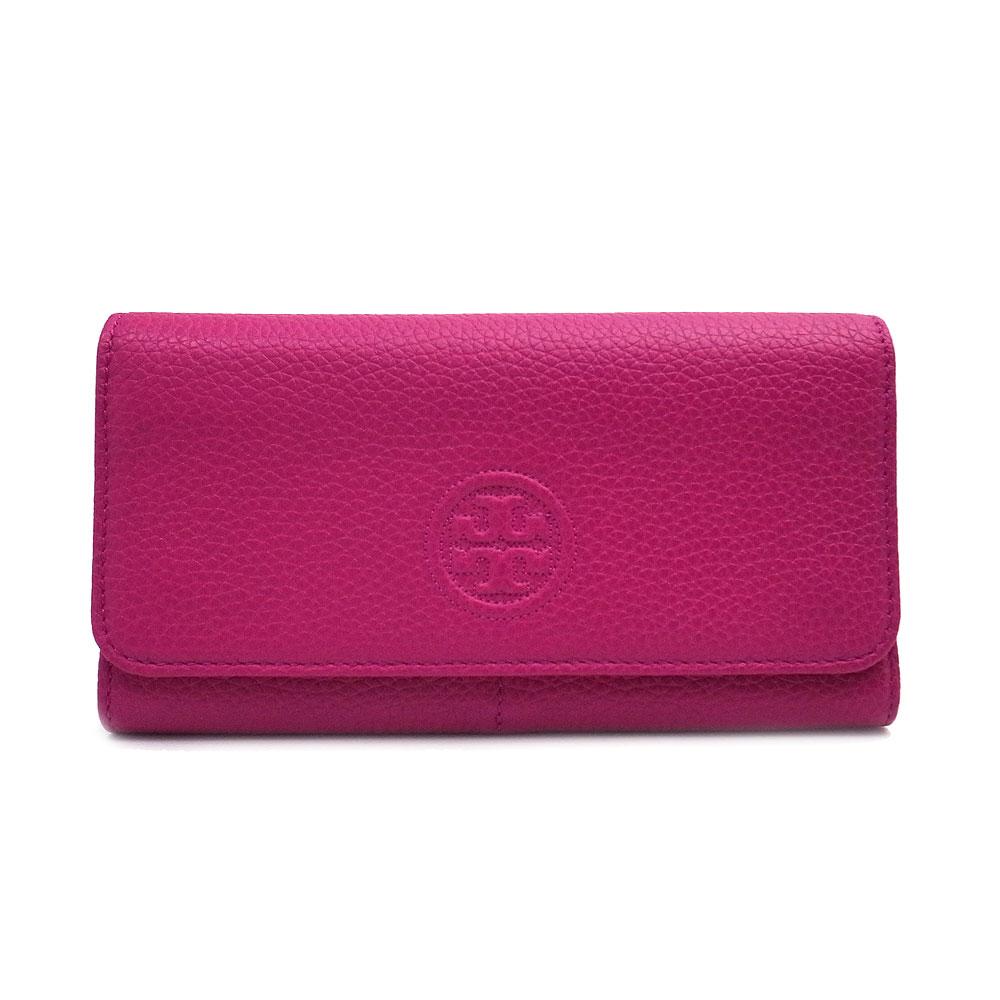 トリーバーチ 財布 アウトレット 二つ折り長財布 50654 500 TORY BURCH ピンク【あす楽 】