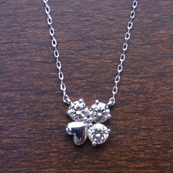 K18 WG ネックレス ダイヤモンド 0.2ct DN10585WG エクセルワールド プレゼントにも おしゃれ アクセサリー