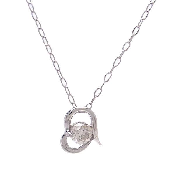 PT ネックレス ダイヤモンド 0.1ct DN5805A エクセルワールド プレゼントにも おしゃれ アクセサリー