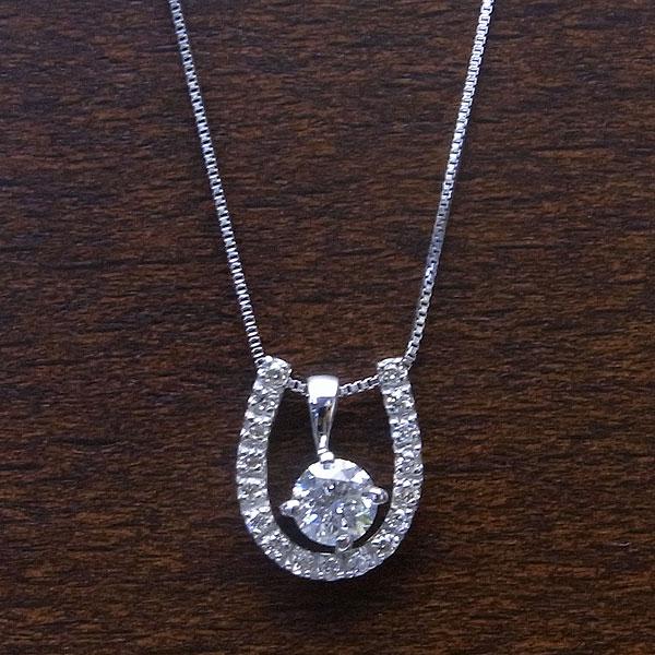 K18 WG ネックレス ダイヤモンド 0.30ct エクセルワールド プレゼントにも おしゃれ アクセサリー