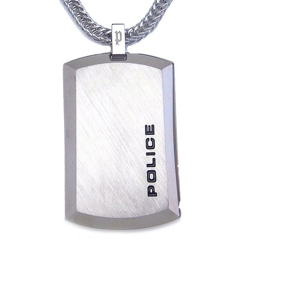 POLICE ポリス ネックレス シルバープレート ステンレス ペンダント 24920PSSーA エクセルワールド プレゼントにも おしゃれ アクセサリー TP