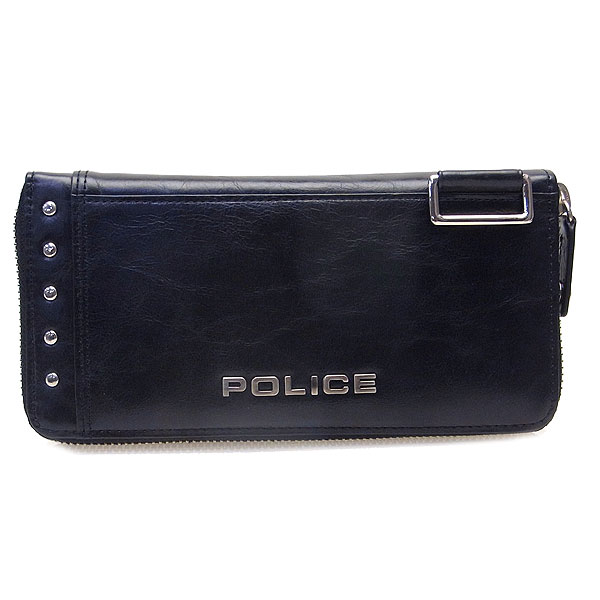 POLICE ポリス メンズ Avoid II 長財布 ロングウォレット PAー58602ー10 ブラック 決算セール商品