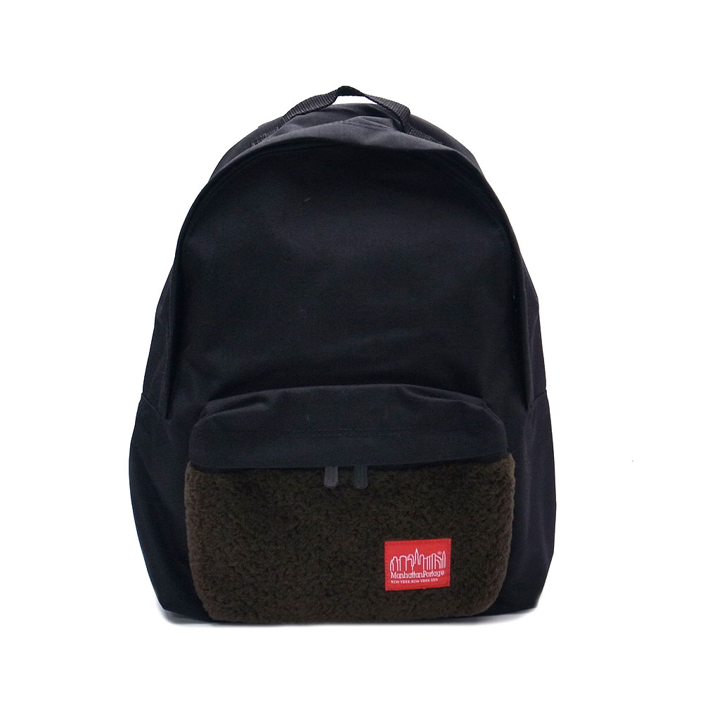 マンハッタンポーテージ MP1210JR-BOA-17-BK リュック 限定品 バックパック ManhattanPortage Big Apple Backpack ブラック『送料無料』『あす楽』