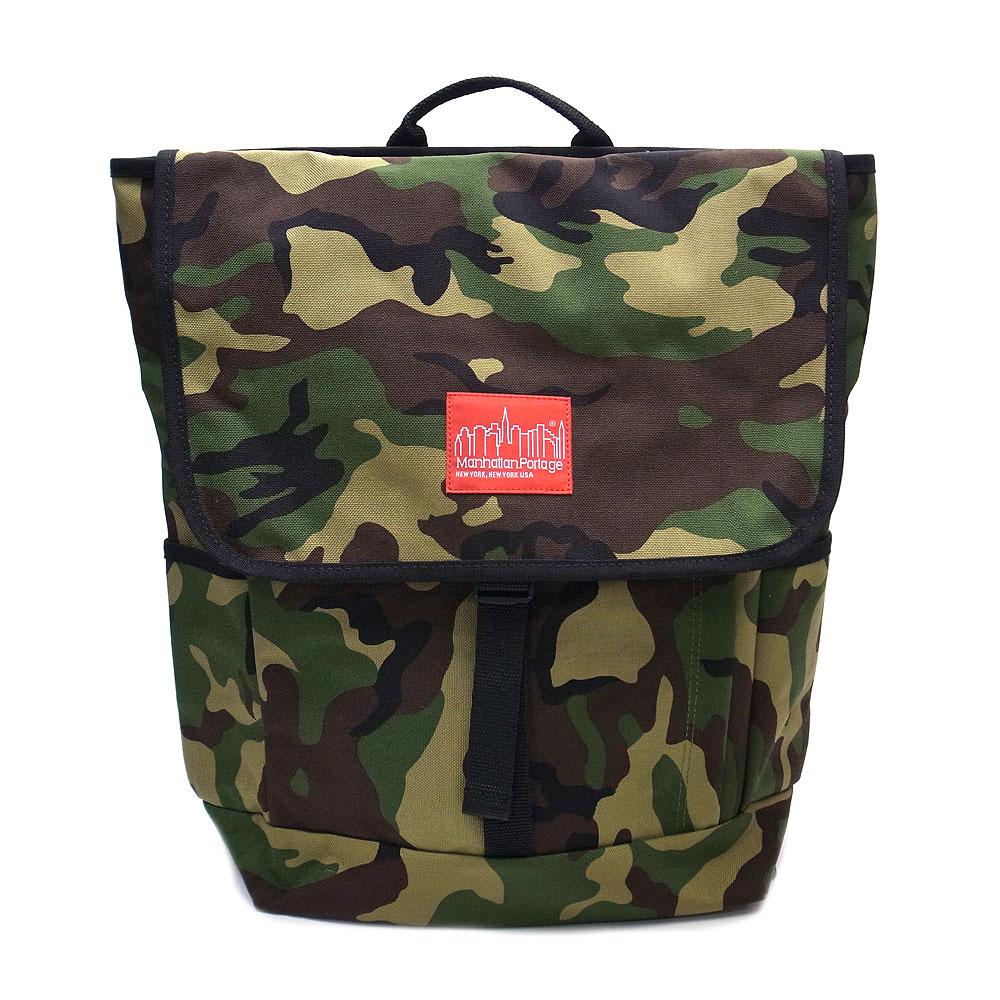 マンハッタンポーテージ MP1220-CAM リュック バックパック ManhattanPortage Washington SQ Backpack-M カモフラ『送料無料』『あす楽』 エクセルワールド プレゼントにも