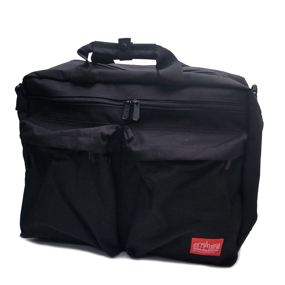 マンハッタンポーテージ 1446ZH バッグ リュック ショルダーバッグ 3WAYトライベッカ ビジネスバッグ ManhattanPortage Tribeca bag ブラック『送料無料』『あす楽』 エクセルワールド ショルダーバック バッグ バック 斜め掛け プレゼントにも