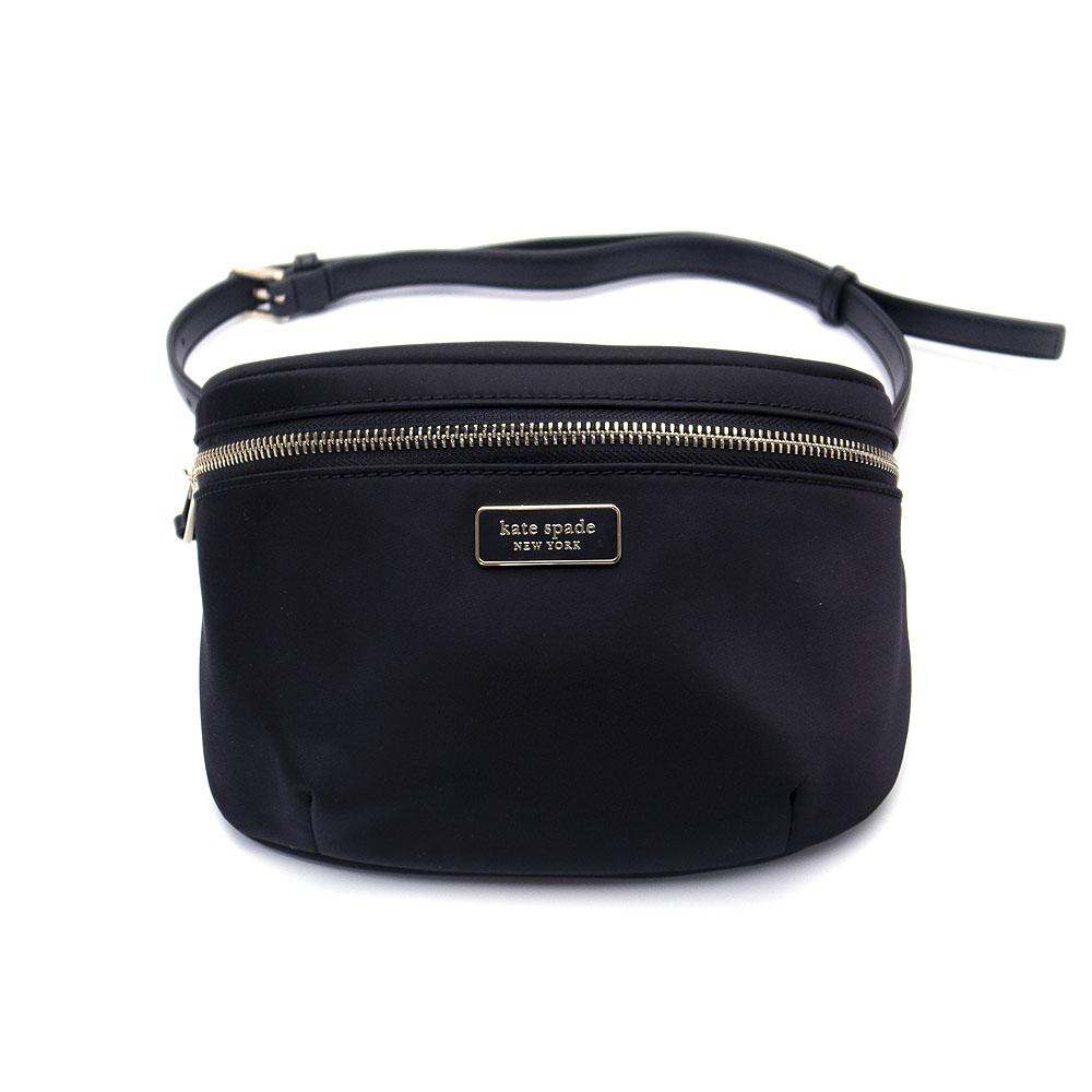 ケイトスペード バッグ アウトレット ウェストポーチ ウェストバッグ WKRU5959 001 kate spade ナイロン ブラック【あす楽】 エクセルワールド バッグ バック ブランド プレゼントにも
