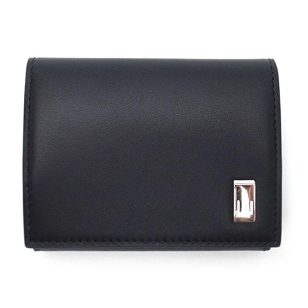 ダンヒル 財布 メンズ 19F2F80AT 001 DUNHILL 小銭入れ コインケース サイドカー レザー ブラック【あす楽】 エクセルワールド ブランド プレゼントにも ウォレット