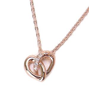 ピンキー&ダイアン ネックレス シルバー Pinky&Dianne 51363 Endless Heart エンドレスハート エクセルワールド ブランド プレゼントにも おしゃれ アクセサリー TP1