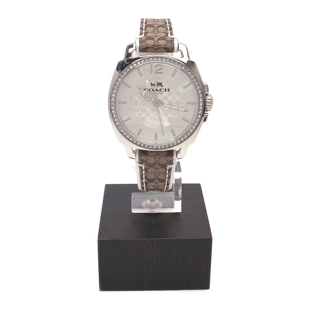 コーチ 時計 14502416 COACH シグネチャー レディース腕時計 ボーイフレンド カーキ【あす楽】