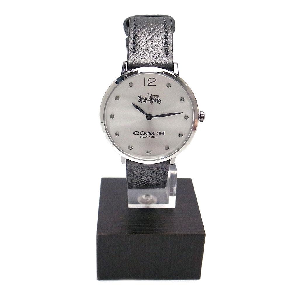 コーチ 時計 14502686 COACH Easton 腕時計 アナログ時計 シルバー×グレー【あす楽】