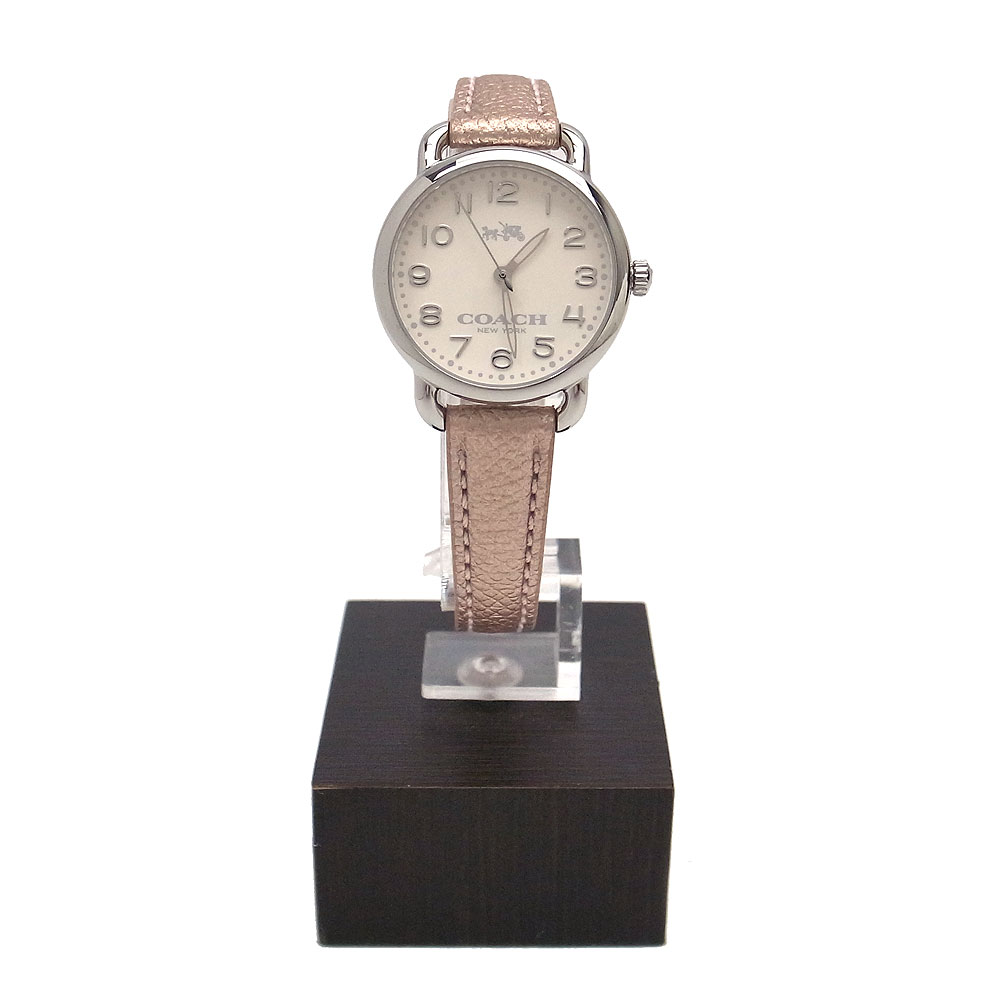 コーチ 時計 14502249 COACH 28mm DELANCEY 腕時計 アナログ時計 シルバー×メタリックローズ【あす楽】
