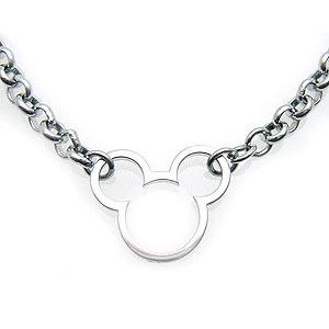 いつもミッキーと一緒 ディズニー Disney ミッキーマウス ネックレス シルバー vpcds20015 エクセルワールド プレゼントにも おしゃれ アクセサリー ディズニーグッズ TP