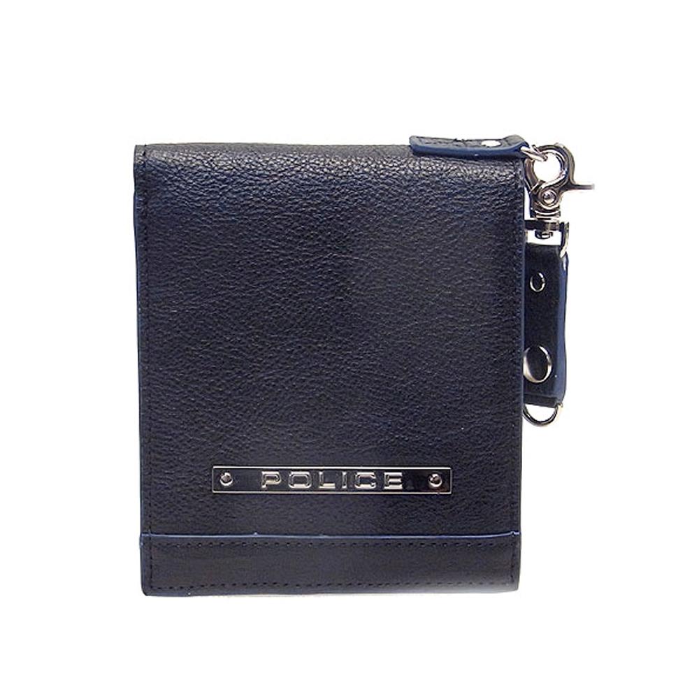 POLICE ポリス メンズ 二つ折り財布 PAー58500ー10 ブラック エクセルワールド プレゼントにも ウォレット 財布 TP zq