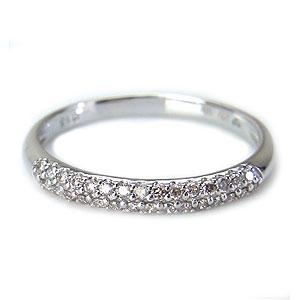 K10 WG Glamorous Lady リング ダイヤモンド 0.15ct LX00058 エクセルワールド プレゼントにも おしゃれ アクセサリー