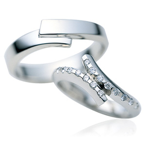 CーISM シーイズム Star Festa 七夕ー マリッジリング (結婚指輪) CMー364ーCMー363 エクセルワールド プレゼントにも